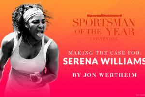 Case for Serena Williams for Sportsman of the Year