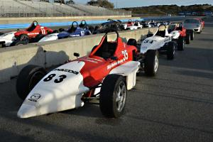 An IndyCar racing school exercise in fright