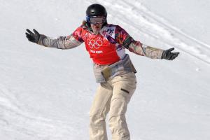 Samkova wins snowboard cross as Jacobellis relives gaff...