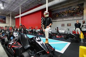 Lewis Hamilton: On and Off the Grid at the U.S. Grand P...