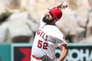 Matt Shoemaker, a former undrafted free agent, has pitched the Angels into a commanding lead in the AL West.