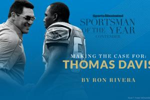 Ron Rivera: Thomas Davis deserves SI's Sportsman
