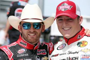 NASCAR's Dillon brothers are big Panthers fans