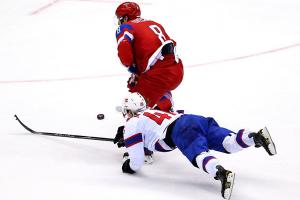 Team Russia fails to impress in 4-0 win over Norway