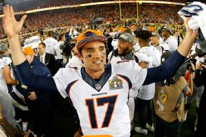 Osweiler has more to celebrate than a Super Bowl title now.