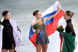 Surprise winner Sotnikova rode the home crowd to gold