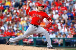 Angels pitcher Garrett Richards has relied more heavily on his sinker this season, and it's paying off.