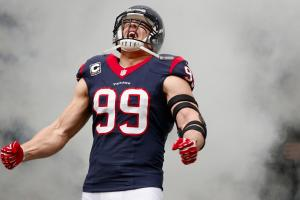J.J. Watt has 100 million reasons to be happy about his NFL future.