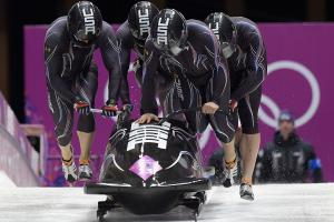 Bobsledder Johnny Quinn finally gets on the track in So...
