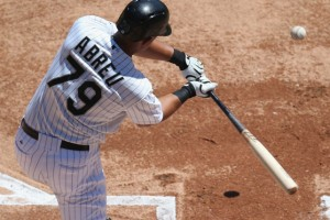 Chicago's Jose Abreu is on pace to hit 49 home runs in his first season, which would tie the MLB rookie record for homers set by Mark McGwire in 1987.