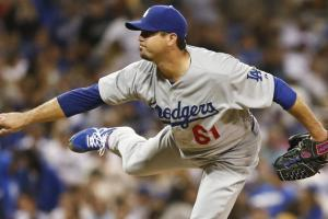 The Dodgers' Josh Beckett threw the season's first no-hitter and has a 2.11 ERA, 1.00 WHIP, 168 ERA+ and 88 strikeouts over 93 2/3 innings and 15 starts.