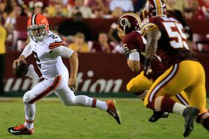 Johnny Manziel, Brian Hoyer struggled in Browns' preseason loss to Redskins