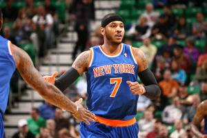 Carmelo Anthony could be a target for several teams in free agency.