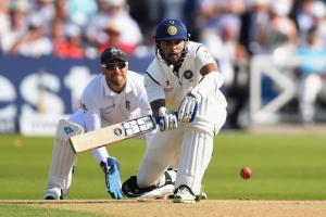 Vijay leads India with unbeaten century in opening test...