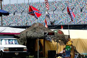 NASCAR wishy-washy about the Confederate flag at its ow...