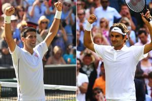 Novak Djokovic last won a Grand Slam at the 2013 Australian Open, while Roger Federer hasn't claimed a major title since 2012 Wimbledon.