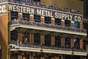 The Western Metal Supply Company building went from abandoned warehouse to a multi-purpose feature of Petco Park when the stadium opened in 2004.