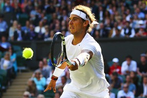 Rafael Nadal lost in the fourth round of Wimbledon to Nick Kyrgios earlier this year.