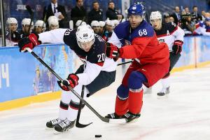 Ryan Suter's three assists -- each displaying exemplary creativity -- propelled the U.S. to a quick start in a 5-2 win over the Czech Republic.