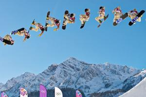 American Sage Kotsenburg, master of 'steez,' takes slop...