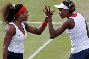Serena (left) and Venus Williams have been on the pro circuit for two decades.