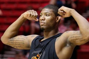 With the No. 6 pick in the 2014 NBA draft, the Boston Celtics selected Marcus Smart from Oklahoma State University.