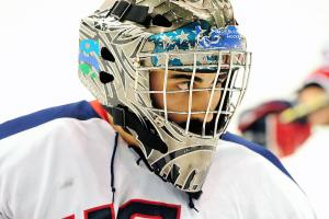 Steve Cash: U.S. Paralympic sled hockey goalie
