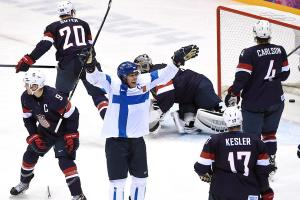 Finland thrashes USA 5-0 in bronze medal game