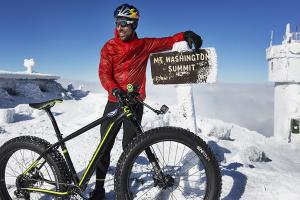 How cyclist Tim Johnson conquered Mt. Washington