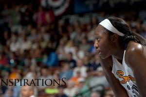 WNBA star Tina Charles determined to help society