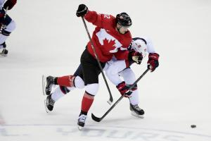 U.S. men's hockey falls to defensive-minded Canada
