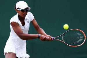 Victoria Duval made the second round of Wimbledon as a qualifier.