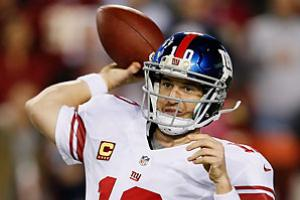 In need of a win to keep their playoff hopes alive, Eli Manning and the Giants might have found the perfect foe in the struggling Ravens.