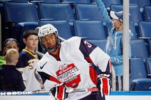 Portland Winterhawks/US national junior team defenseman Seth Jones has a shot at becoming the next face of the NHL.