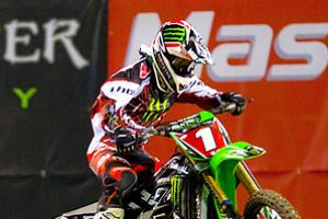 Ryan Villopoto tore his ACL in 2012 after clinching this second straight supercross championship.