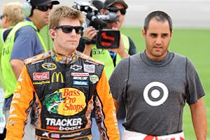 Jamie McMurray (left) and Juan Pablo Montoya have a lot of prove for Earnhardt Ganassi Racing in 2013.