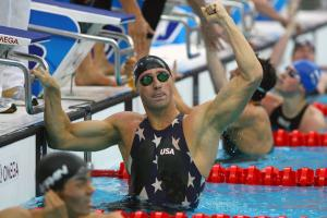 Jason Lezak carried the U.S. to gold in the 4 x 100 medley relay at the 2008 Beijing Olympics.