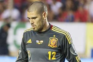 Victor Valdes has helped Barcelona win three Champions League titles and five La Liga titles.