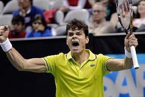 Two-time defending champ Milos Raonic says he's disheartened the SAP Open is moving to Brazil.