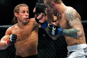 Urijah Faber (left) will face Ivan Menjivar in a bantamweight bout on Feb. 23 at UFC 157.