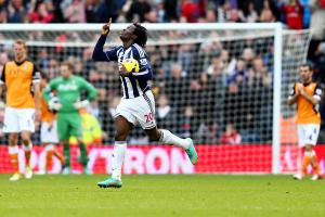 Romelu Lukaku has been the beneficiary of a number of crosses from his West Brom teammates of late.