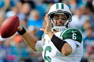 Mark Sanchez's status as the Jets' starting QB is in question after a season that saw him get benched.