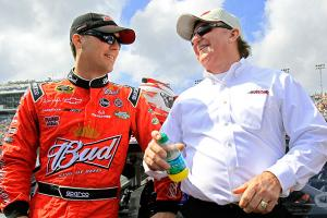 Kevin Harvick's going to keep his relationship with Richard Childress as amicable as possible this year before his departure to Stewart-Haas Racing.