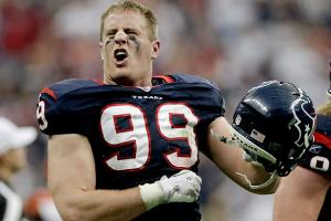 J.J. Watt was a monster in 2012, but he needs help from the rest of the Texans' front seven.