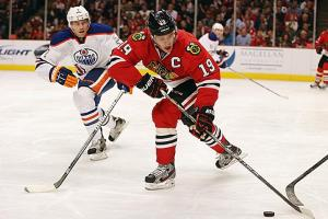 Captain Jonathan Toews and his record-smashing Blackhawks are bound to cool off, but when?