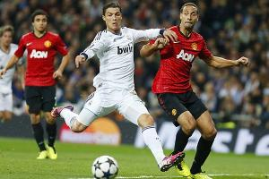 Cristiano Ronaldo, who leads the Champions League in goals, scored in the first leg's 1-1 draw.