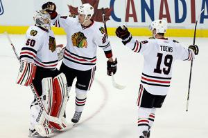 Despite close calls and a bunch of one-goal games, the Blackhawks have refused to lose in regulation.