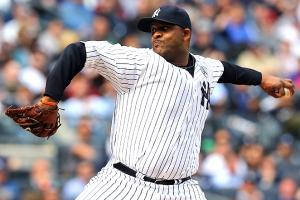 CC Sabathia's performance on Opening Day did not improve his status with nervous fantasy owners.