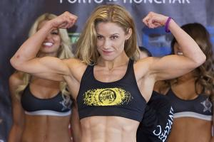 Barb Honchak got into MMA after going to her husband's Brazilian jiu-jitsu class at Steve Berger's gym.