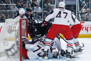 The hardworking  Blue Jackets have rallied around Vezina Trophy candidate Sergei Bobrovsky, who's been keeping just about everything out of his net as the team fights to the wire for a playoff spot.